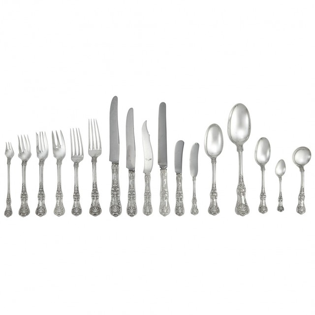 Assembled Tiffany & Co. Sterling Silver Flatware Service