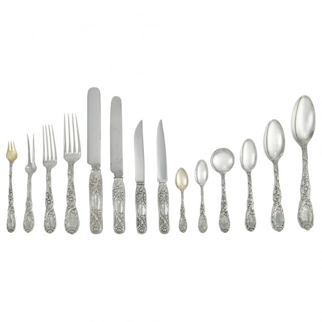 Assembled Tiffany & Co. Sterling Silver Partial Flatware Service
