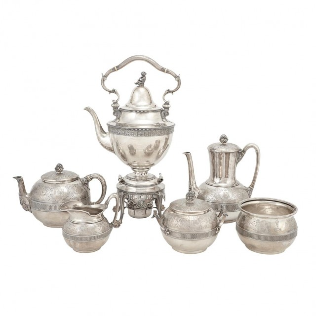 Tiffany & Co. Sterling Silver Tea and Coffee Service