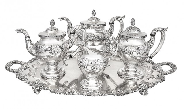 American Silver Part Tea and Coffee Service