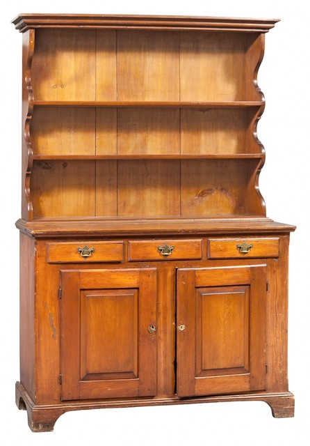Pine Hutch Cupboard