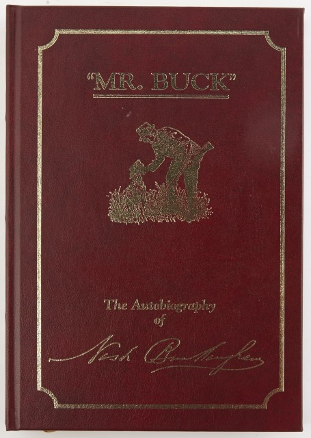 "BUCKINGHAM, NASH  ""Mr. Buck."" The Autobiography of Nash Buckingham."