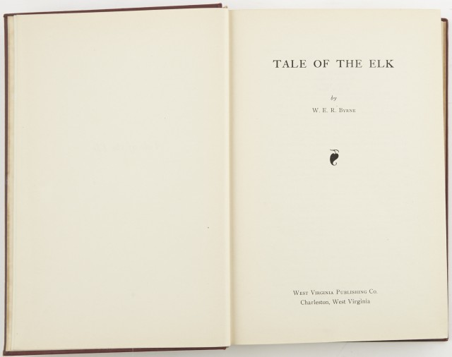 BYRNE, W.E.R.  Tale Of The Elk.