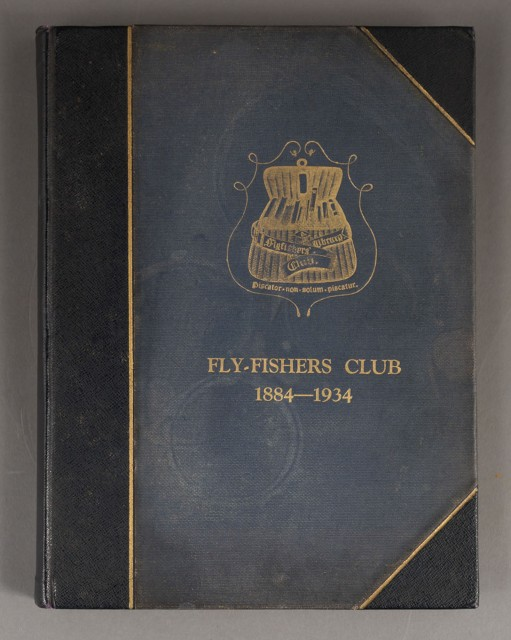[ANGLING CLUB]  The Book of the Flyfishers Club 1884-1934.