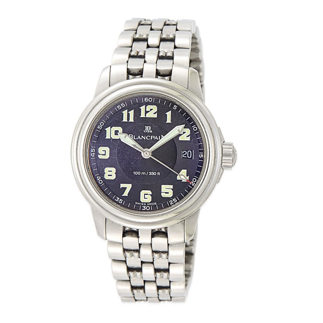 Stainless Steel Wristwatch, Blancpain