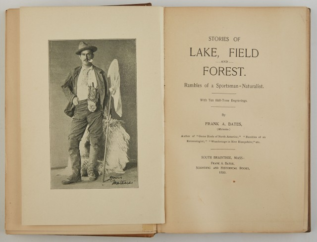 BATES, FRANK A.  Stories of Lake, Field and Forest. Rambles of a Sportsman-Naturalist.