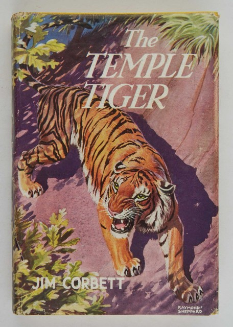 CORBETT, JIM  The Temple Tiger and More Man-Eaters of Kumaon.