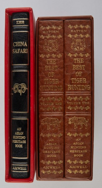 [AMWELL PRESS]  Two Asian Hunting Heritage Books.