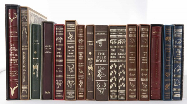 [AMWELL PRESS]  Group of general hunting titles.