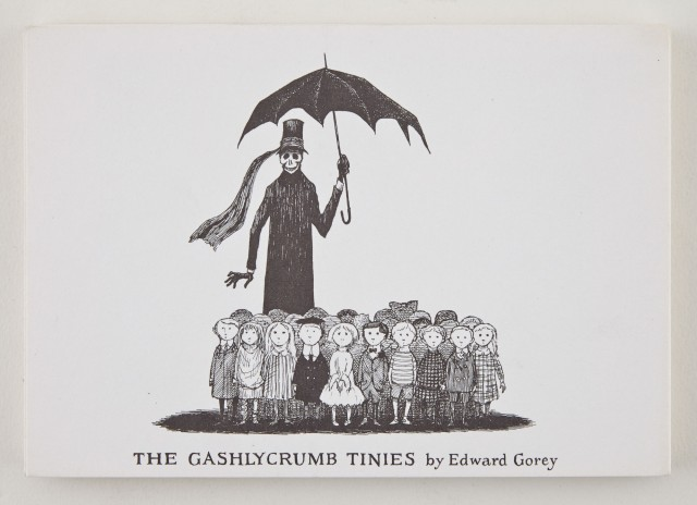GOREY, EDWARD  The Gashlycrumb Tinies.