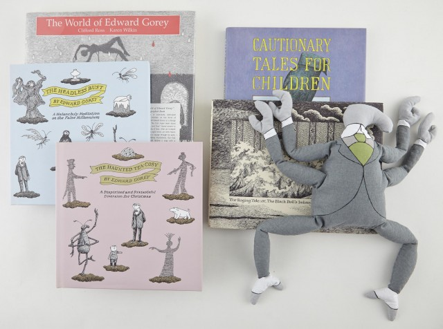 GOREY, EDWARD  A group of Edward Gorey limited editions