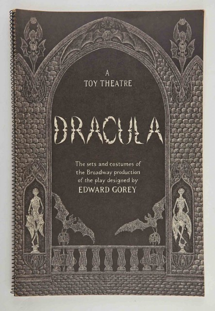 GOREY, EDWARD  Dracula. A Toy Theater.