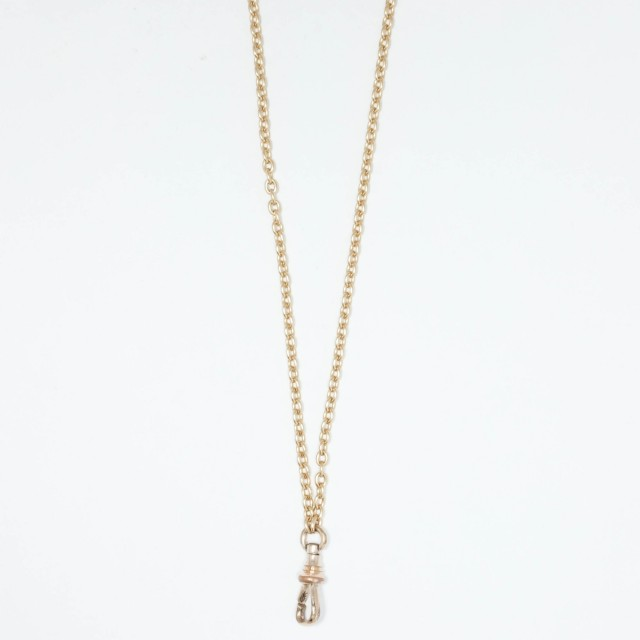 Long Gold Fob Chain
