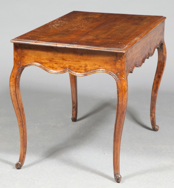 Provincial Louis XV Walnut Table