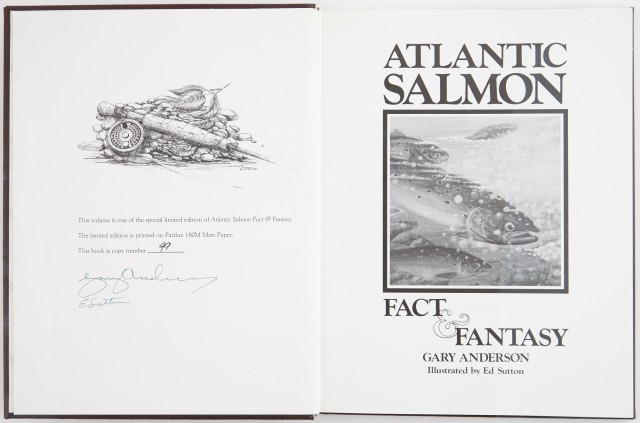 ANDERSON, GARY  Atlantic Salmon. Fact & Fantasy.