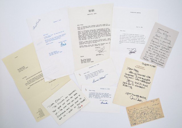 [CASSINI-CORRESPONDENCE]  Group of approximately 12 letters sent to Cassini by various notables.