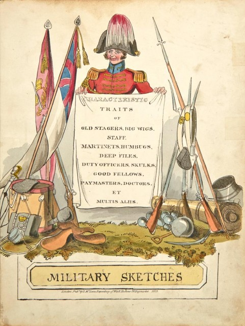 ALKEN, HENRY  Military Sketches