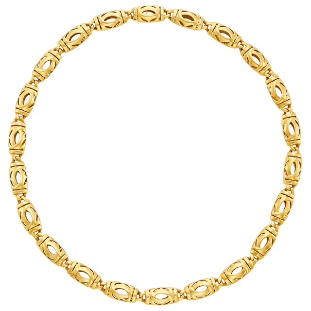 Gold Necklace, Cartier, France