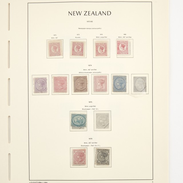 New Zealand Postage Stamp Collection 1858 to 2005