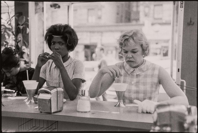 DAVIDSON, BRUCE (b. 1933)  [Time of Change series (Two Women at Lunch Counter)],