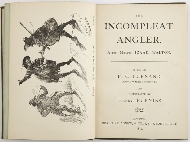 BURNAND, F.C.  The Incompleat Angler. After Master Izaak Walton.