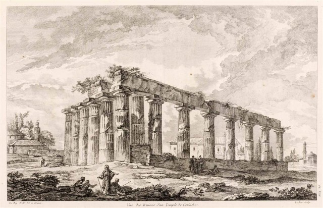 [ANCIENT GREECE]  LE ROY, JULIEN DAVID. Les Ruines des plus Beaux Monuments de la Grece.