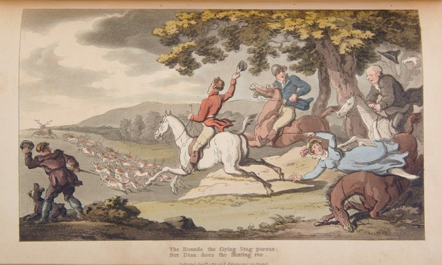 [COLOR PLATE]  [COMBE, RICHARD] and ROWLANDSON, THOMAS. The Dance of Life, a Poem.