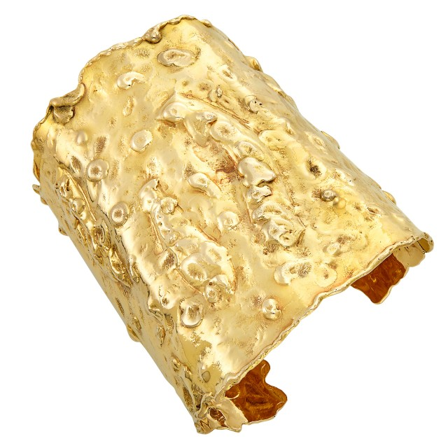 Gold Manchette Cuff Bracelet, Van Cleef and Arpels