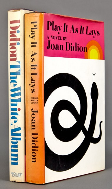 DIDION, JOAN  Play Is As It Lays.