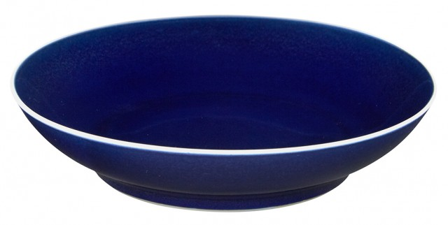 Chinese Blue Glazed Porcelain Dish