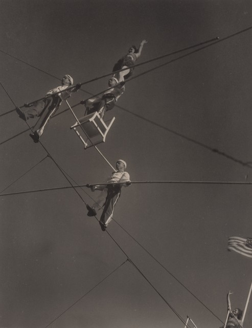 COSTAIN, HAROLD HALIDAY (1895-1994)  High Wire Artists,