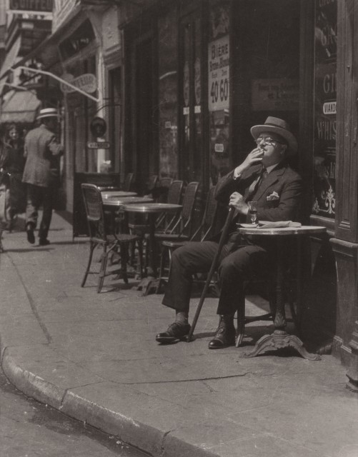 ABBE, JAMES (1883-1973)  Alexander Woollcott in Paris,