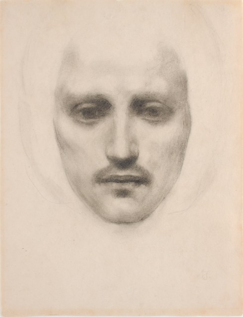 Kahlil Gibran, Self Portrait