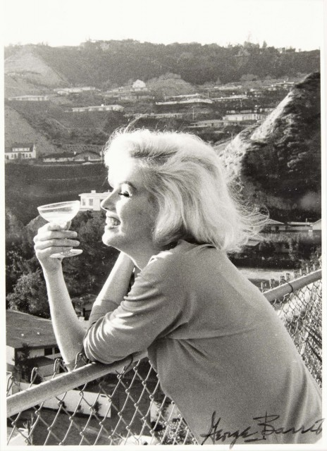 BARRIS, GEORGE (b. 1922)  [Marilyn Monroe from the Last Photographs], 1962.