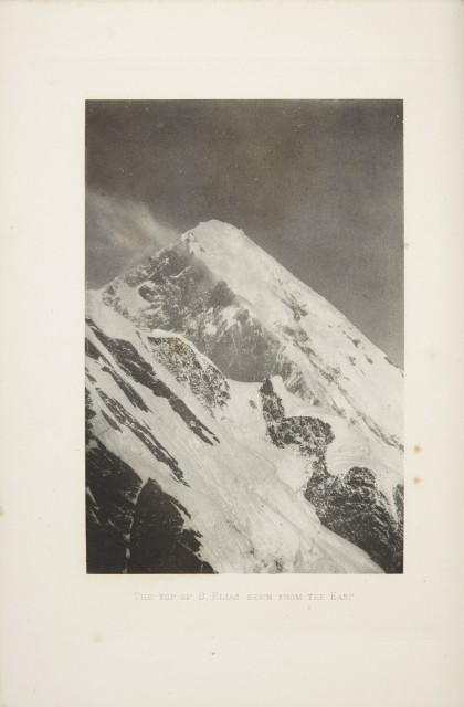 [ALASKA]  FILIPPI, FILIPPO DE. The Ascent of Mount St. Elias, Alaska, by H.R.H. Prince Luigi Amadeo de Savoia...