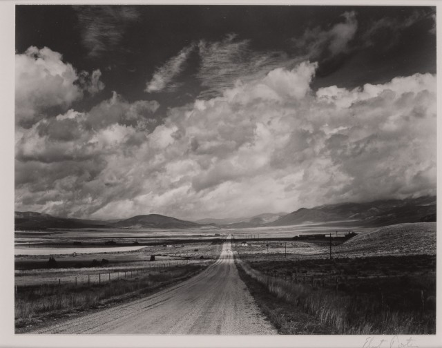 PORTER, ELIOT (1901-1990)  Highway, Eagles Nest, New Mexico