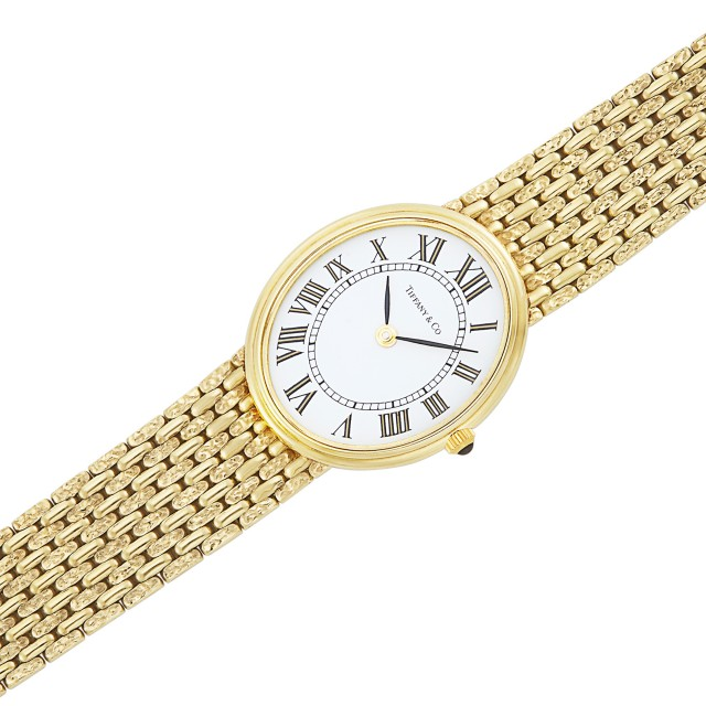 Gold Wristwatch, Tiffany and Co.
