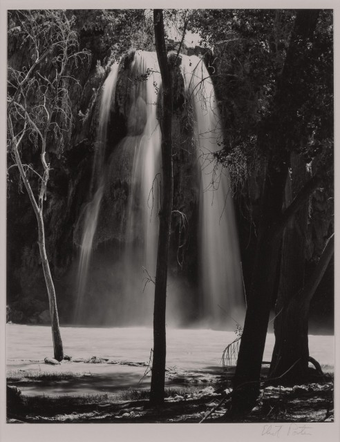 PORTER, ELIOT (1901-1990)  Waterfall, Supai