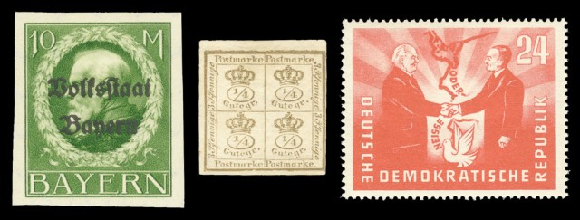 Germany and Great Britain Stamp Collections