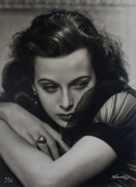 HURRELL, GEORGE (1904-1992)  Hedy Lamarr