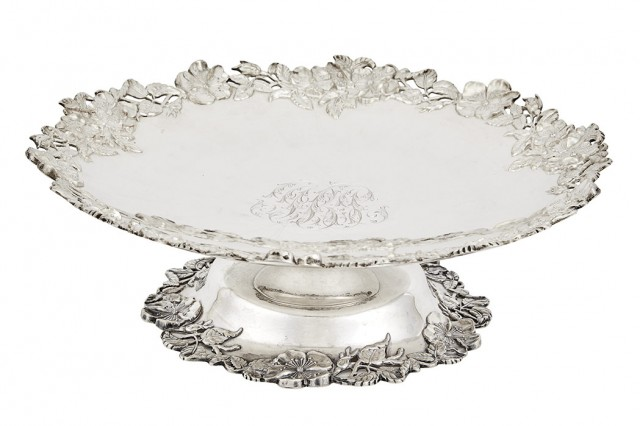 Gorham Sterling Silver Footed Cake Stand