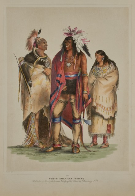 CATLIN, GEORGE Catlin's North American Indian Portfolio. Hunting Scenes and Amusements of the Rocky Mountains and Prairies of America.