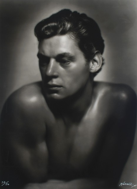HURRELL, GEORGE (1904-1992)  Johnny Weissmuller