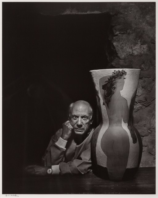 KARSH, YOUSUF (1908-2002)  Pablo Picasso,