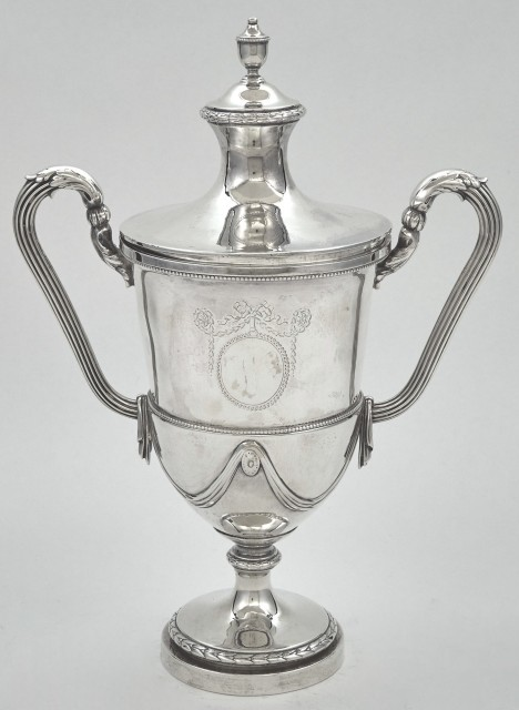 George III Sterling Silver Cup and Cover