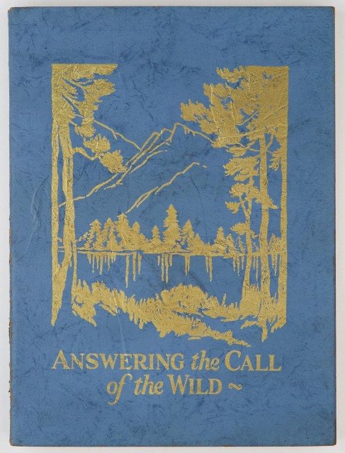 [MONTANA]  [HECKER, WALTER C.]. Answering the Call of the Wild.