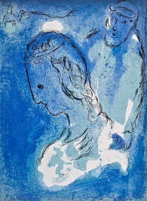 [CHAGALL, MARC]  WAHL, JEAN. Illustrations for the Bible by Marc Chagall