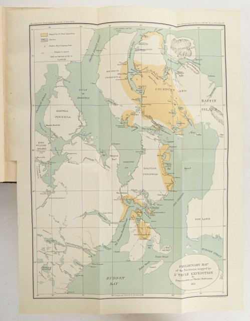 [ALASKA/CANADA]  RASMUSSEN, KNUD. Across Arctic America. Narrative of the Fifth Thule Expedition.
