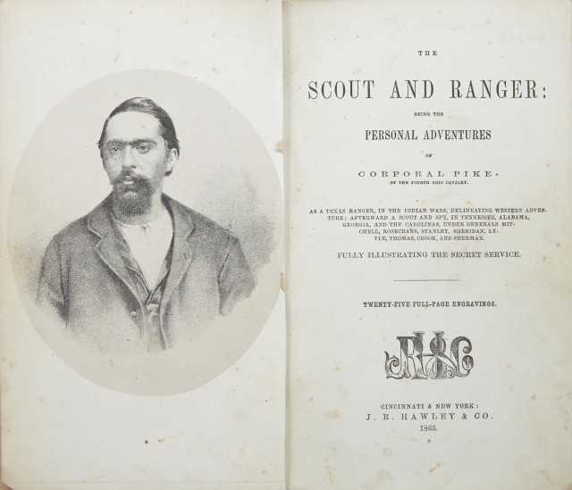 PIKE, [JAMES] The Scout and Ranger: being the personal adventures of...