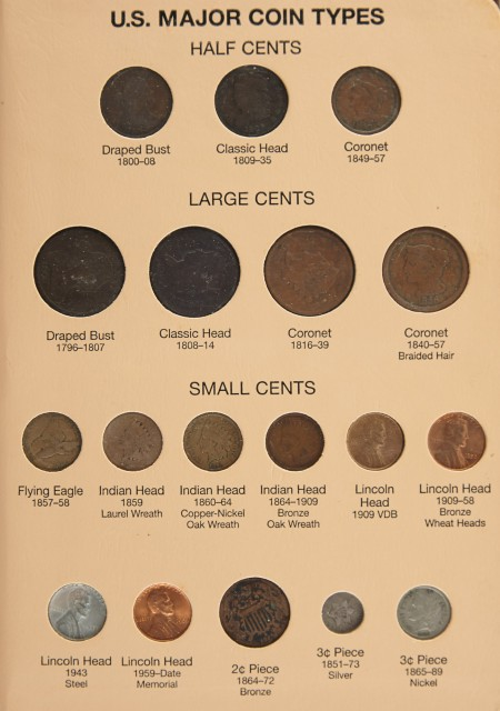 United States Major Coin Types